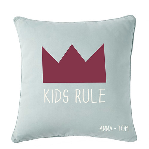 COUSSIN PERSONNALISABLE | KIDS RULE