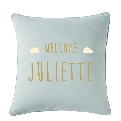 COUSSIN PERSONNALISABLE | WELCOME