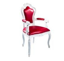 red and white chair for rent in raleigh nc bridal shower