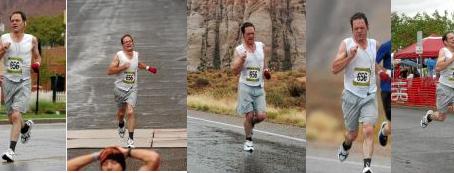 Fridays with Frank: A Rainy St. George Marathon
