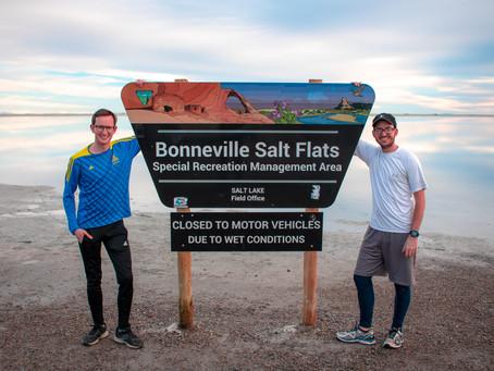 The Bonneville Salt Flats Are Getting Pretty Thin