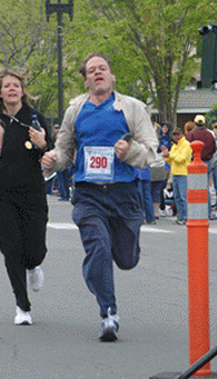 Fridays with Frank: First Marathon - Ogden 2003