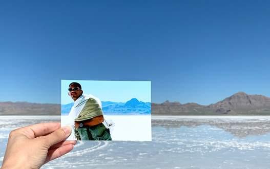 Bonneville Salt Flats photo by Andrea David Bilder