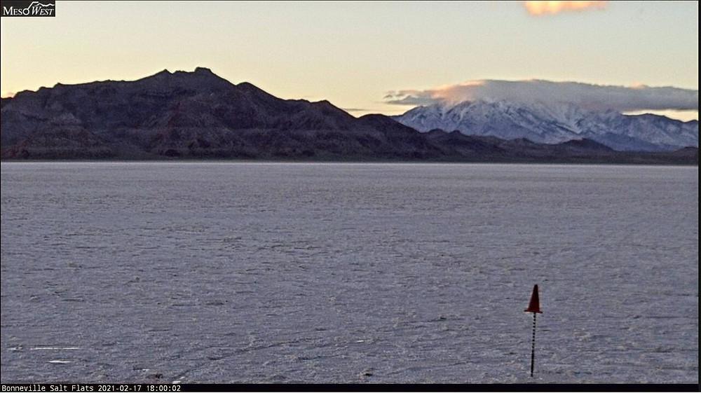 Bonneville Salt Flats webcam bureau of land management