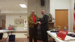 Grand Knight Ed Rodriguez  2015 WV Knights of Columbus 10011 Star Council Award Presentation (12)