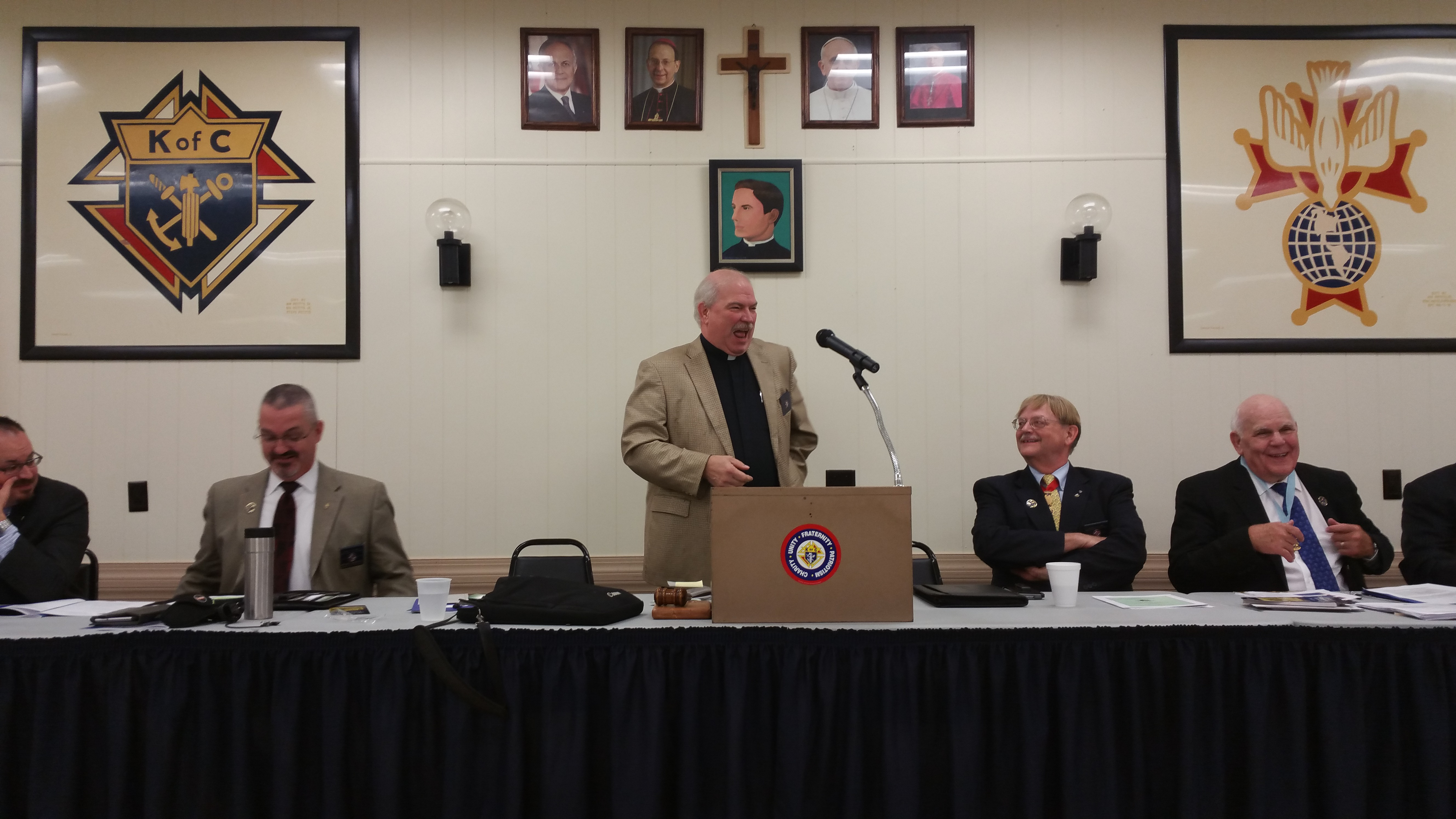 Rev. John Rice-STATE CHAPLAIN