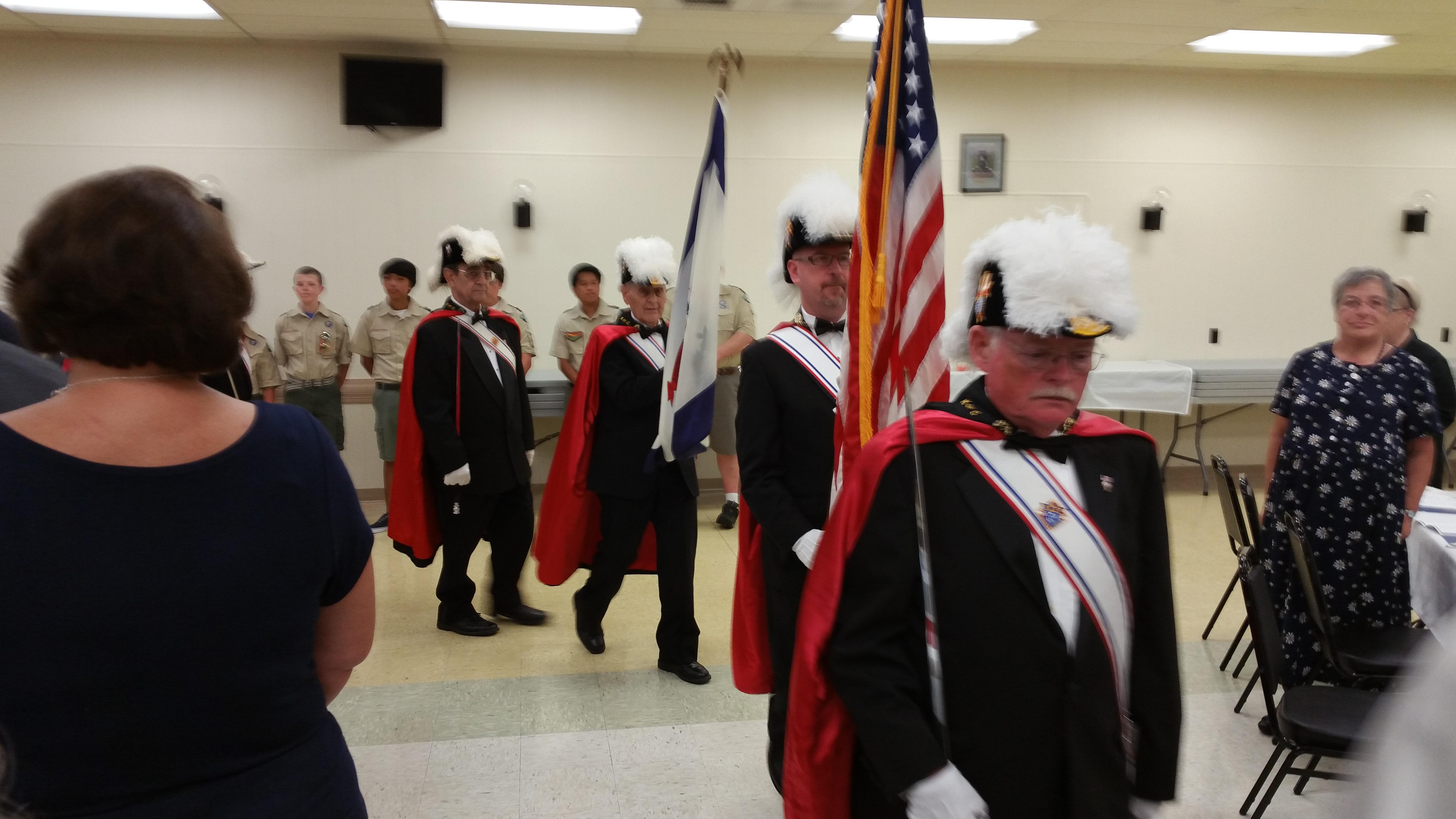 4th Degree Color Guard Clarksburg WV