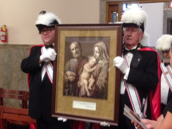 Council #12630 and Assembly #1188 displayed the Holy Family icon 2 - Copy