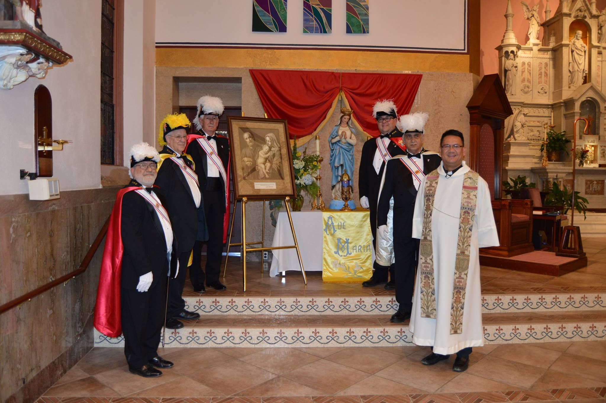 Council #12630 and Assembly #1188 displayed the Holy Family icon21 - Copy