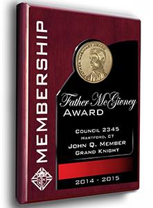 Father Mcgivney Award