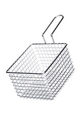 Stainless steel basket for french fries