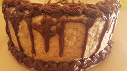 german chocolate layered cake