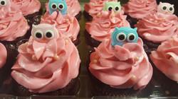 owl cupcakess