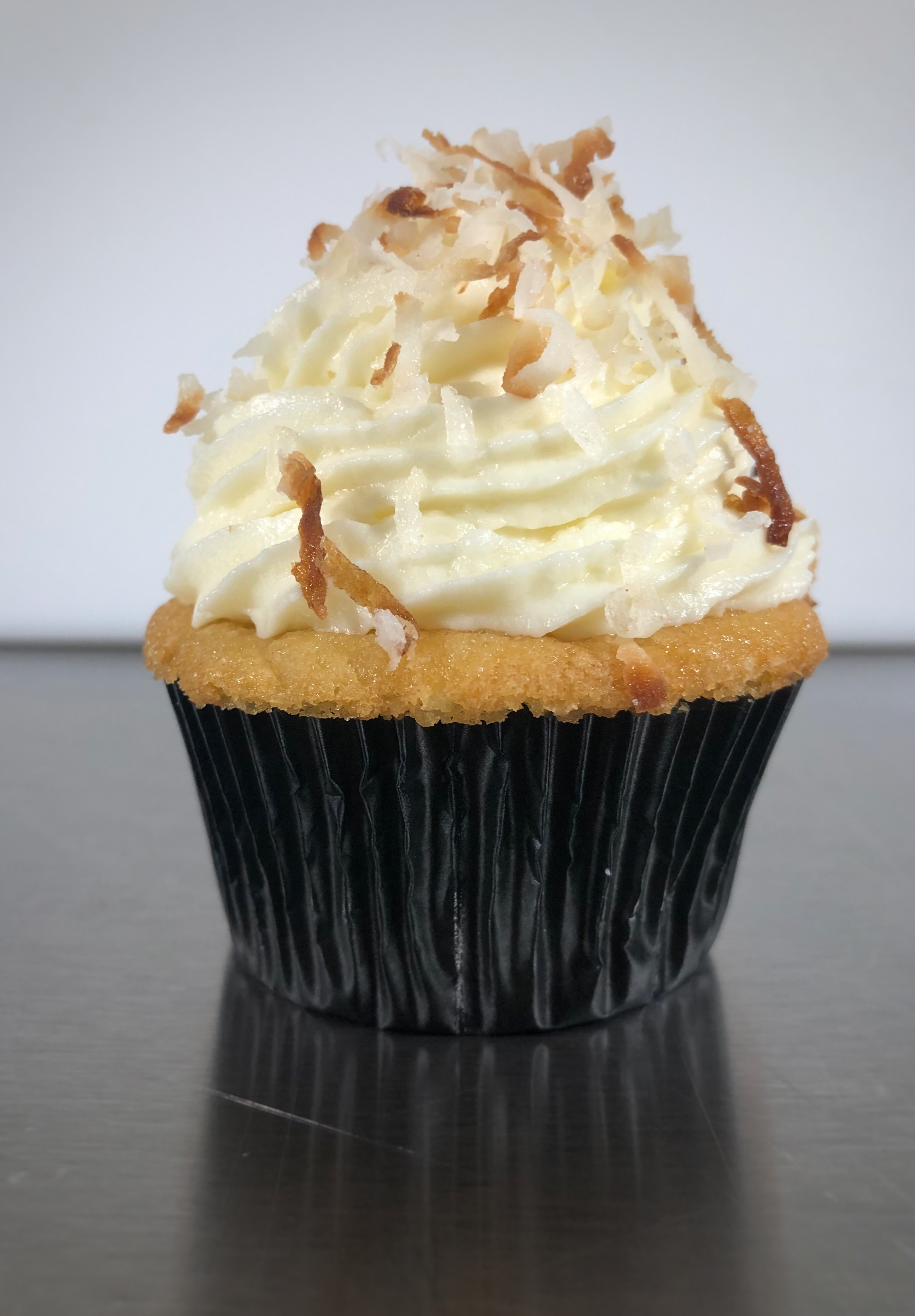 Ultimate Coconut Cupcake