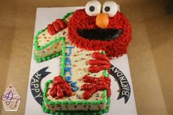1st with Elmo