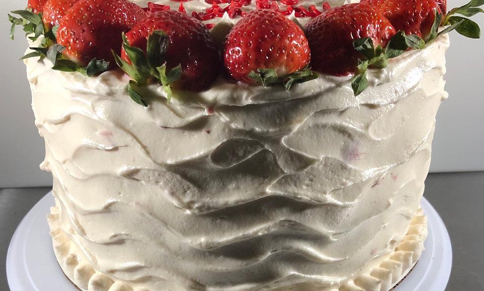Strawberry Sensation Cake