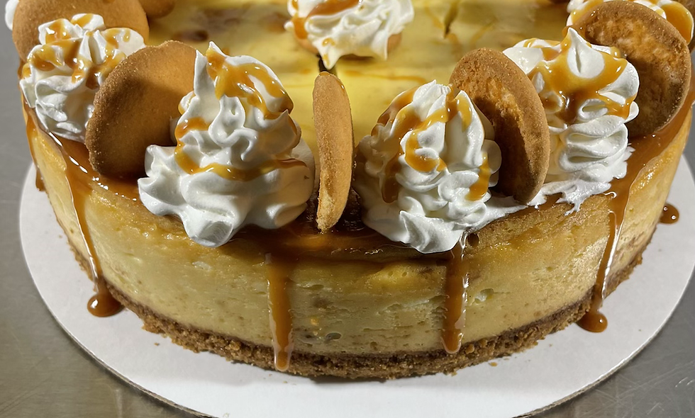 "9"" Banana Pudding Cheesecake"