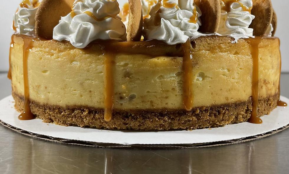 "10"" Banana Pudding Cheesecake"