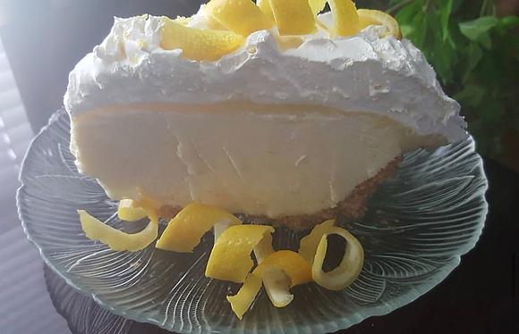 Lemon Addiction Pie (whole pie)