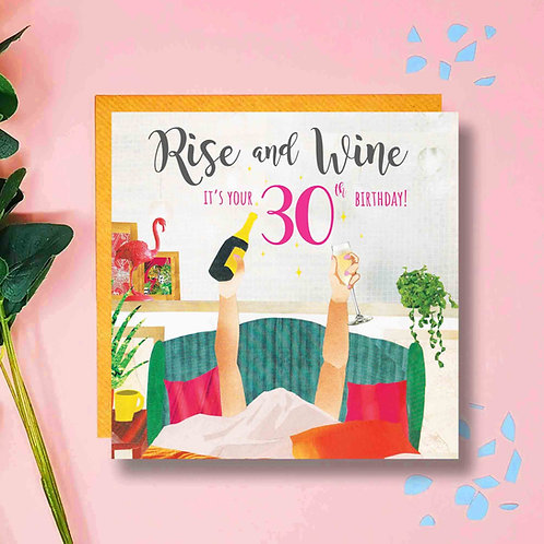 Rise and Wine 30th