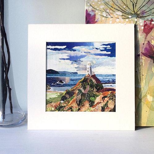 Llanddwyn Island Mounted Print