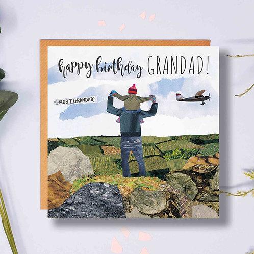 Birthday Grandad Plane