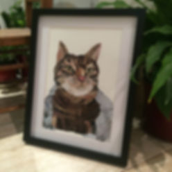 Loki the Cat - Pet Portrait
