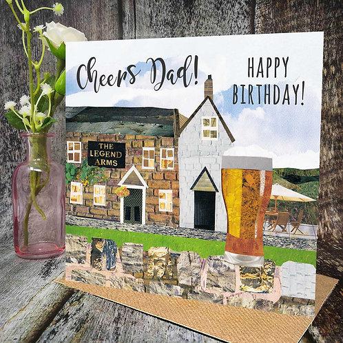 Cheers Birthday Dad