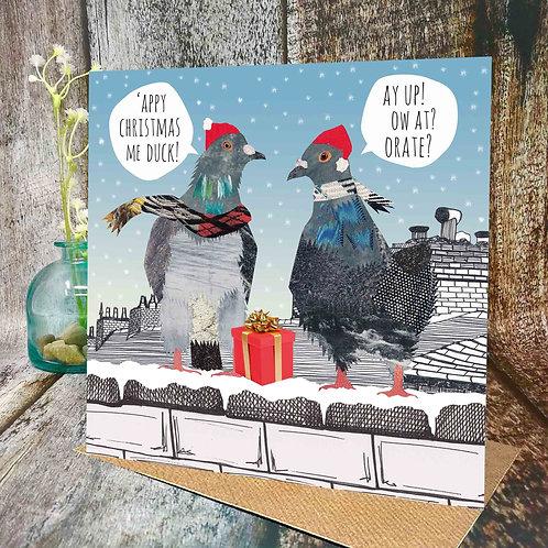 Stokie Christmas Pigeons