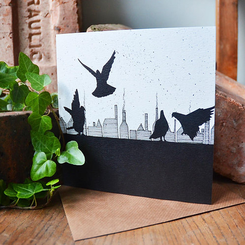 Stokie Pigeon Card