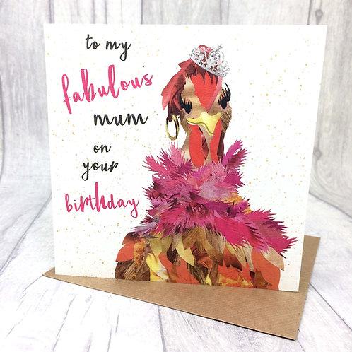Fabulous Mum on your Birthday