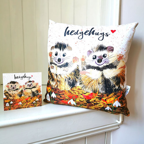 Hedgehugs Cushion