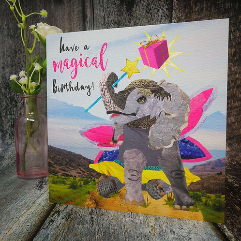 Magical Elephant Present