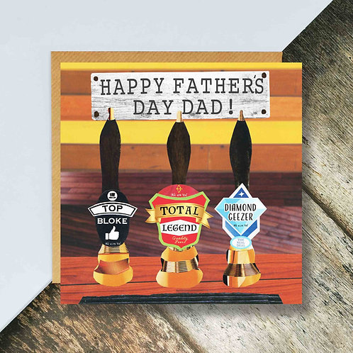 Beer Pumps Father's Day