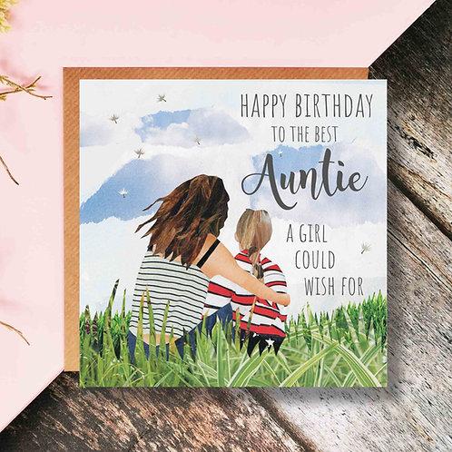 Best Auntie Wish