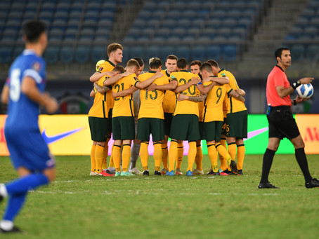 CityRoos in action: World Cup qualifier vs Chinese Taipei