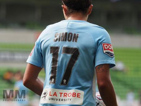Simon departs W-League side after three seasons