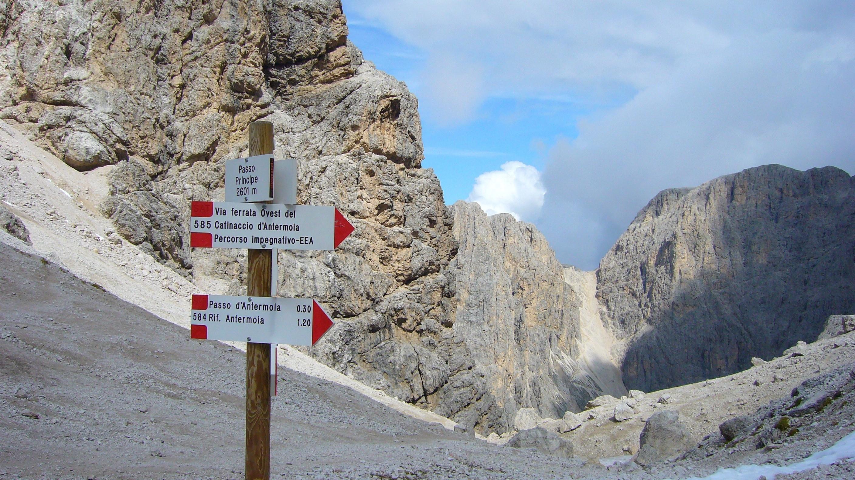 Direzioni infinite sulle Dolomiti