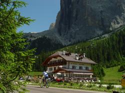 Monti Pallidi - Rifugio in the Alps