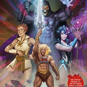 MASTERS OF THE UNIVERSE: REVELATION, ISSUES #1-4