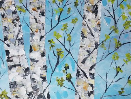 Acrylic Painting Class - September