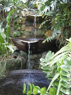Rum Pot Fountain Detail