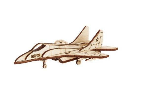 Собранная модель самолёт МИГ-29 (арт. 010204)