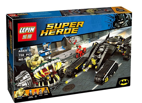 Конструктор LEPIN Бэтмен и убийца Крок (Артикул 07037)