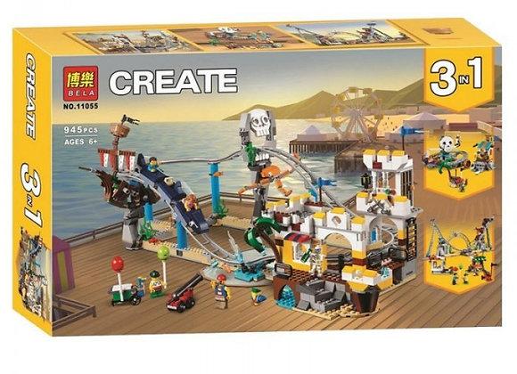 Конструктор BELA Пиратские гонки (Артикул 11055)