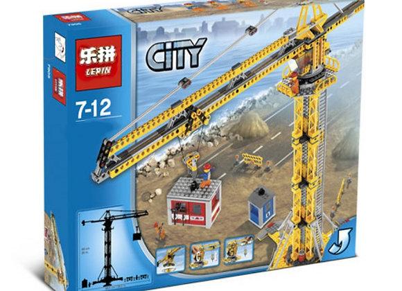 Конструктор LEPIN Большой строительный кран(Артикул 02069)