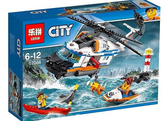 Конструктор LEPIN Сверхмощный спасательный вертолет(Артикул 02068)