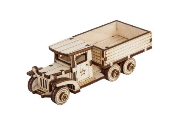 Собранная модель грузовик ЗИС-5В (арт. 010301)