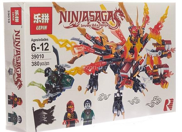 Конструктор LEPIN Трёхголовый Огненный дракон Кая (Артикул: 39010)