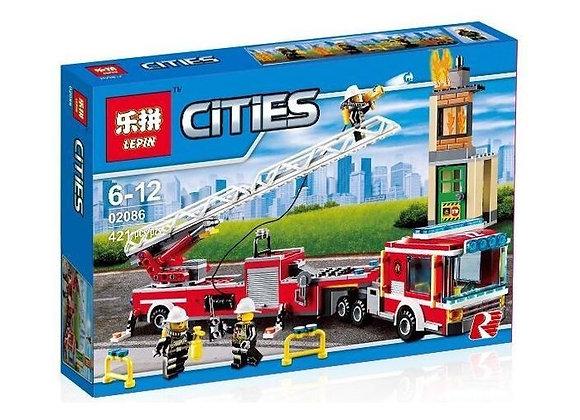 Конструктор LEPIN Пожарная машина (Артикул: 02086)